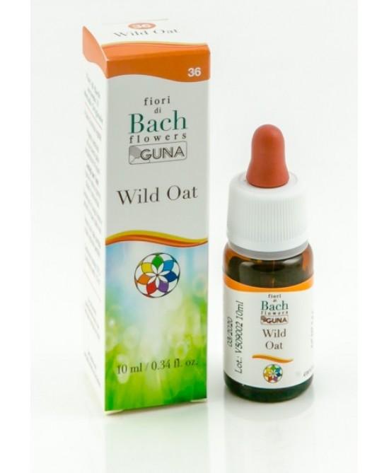 Fiori Di Bach Guna Wild Oat Gocce Senza Glutine 10ml - Farmajoy