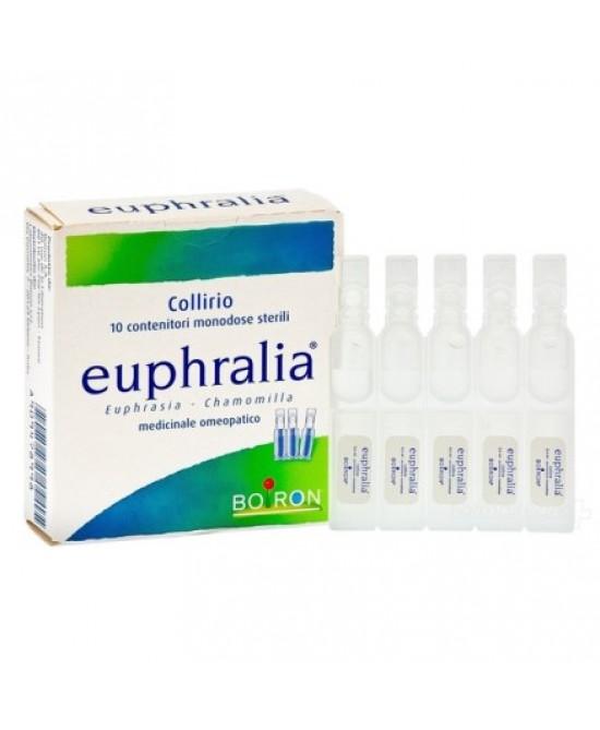 Boiron Euphralia Collirio Monodose 30 Flaconcini Da 0,4ml - Farmawing