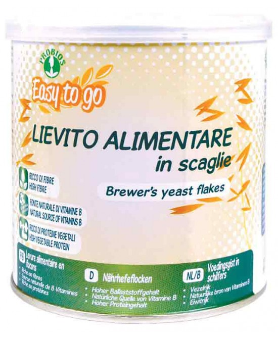 Easy To Go Lievito Alimentare In Scaglie Biologico 125g - FARMAEMPORIO