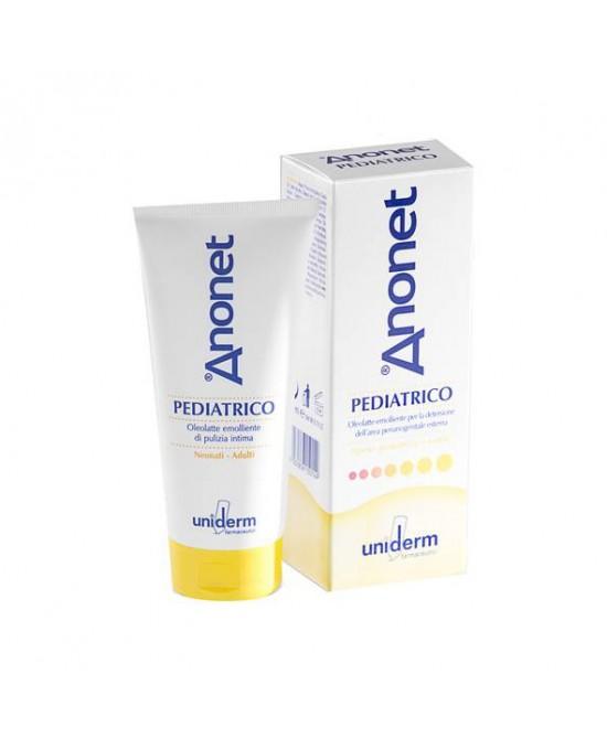 Uniderm Anonet Pediatrico Oleolatte Emolliente Per Igiene Intima 200ml - Farmacistaclick