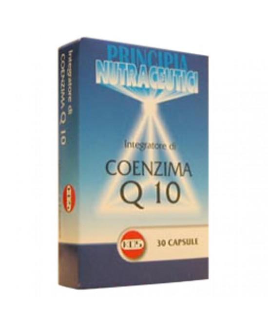 Coenzima Q10 30cps - Parafarmacia la Fattoria della Salute S.n.c. di Delfini Dott.ssa Giulia e Marra Dott.ssa Michela