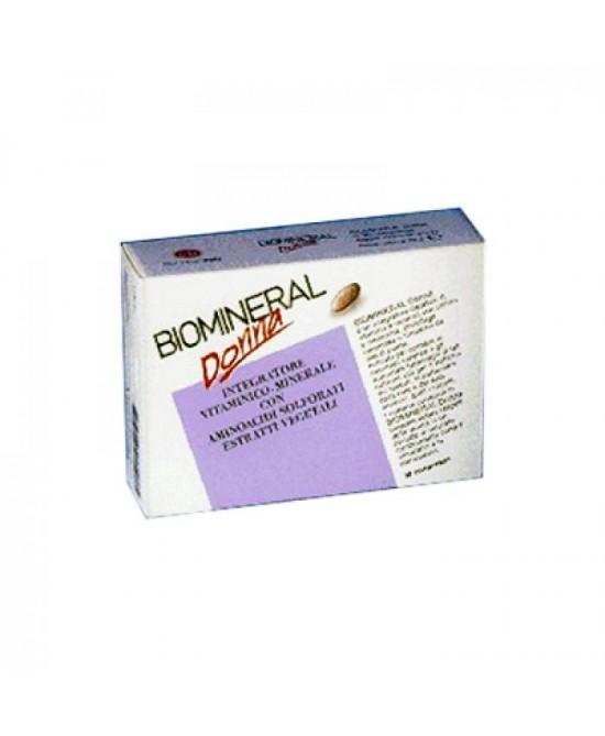 Biomineral Biomineral Donna Integratore Alimentare 30 Compresse - Farmafamily.it