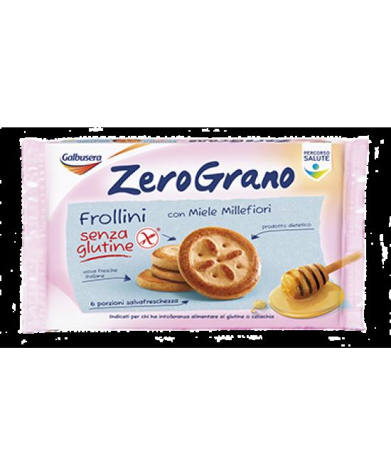 ZeroGrano Frollini Con Miele Millefiori Senza Glutine 260g - FARMAPRIME