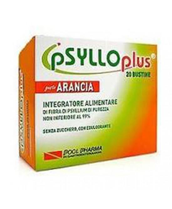 Psyllo Plus Gusto Arancia Integratore Intestinale 20 Bustine