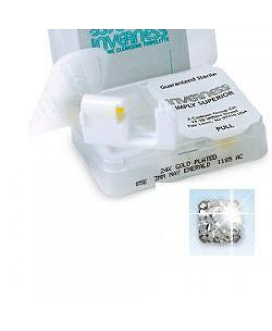 Sanico Inverness 54 Orecchini Sterili Di Zircone Cubici 3mm - FARMAEMPORIO