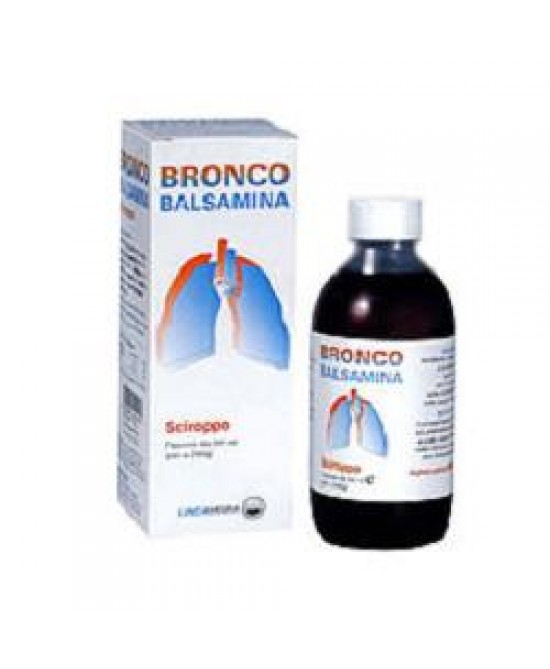 Bronco Balsamina Sciroppo Integratore Vie Respiratorie 200 ml
