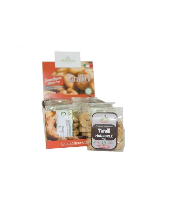 Alimenta 2000 Taralli Alle Mandorle Senza Glutine 250gr - Farmajoy