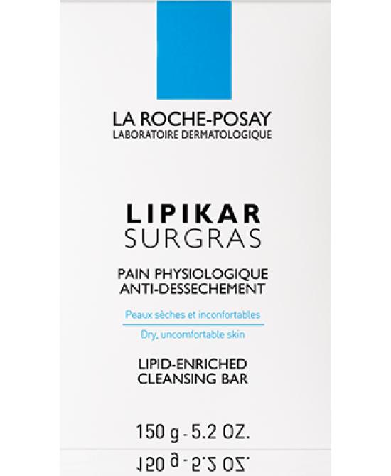 La Roche Posay Lipikar Surgras Pane Fisiologico Antisecchezza 150 g