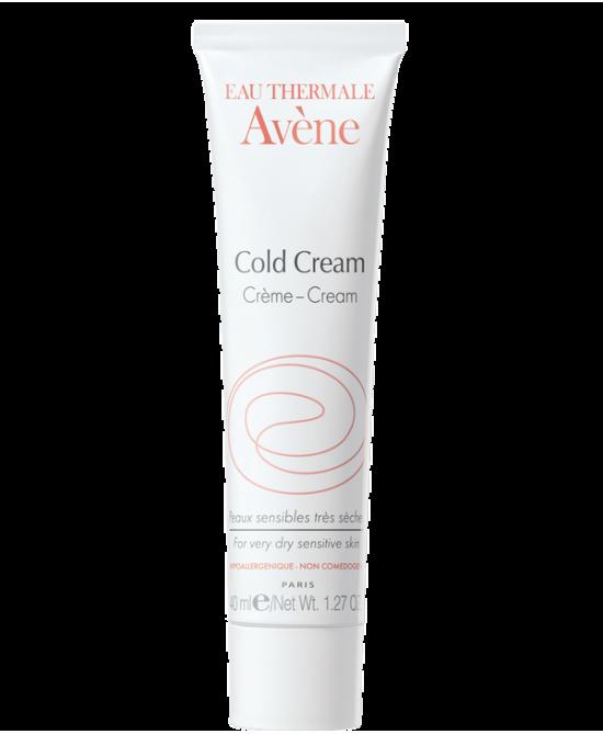 Avène Cold Cream Crema Idratante Viso E Corpo Pelle Sensibile Molto Secca 100 Ml