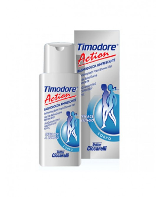Dottor Ciccarelli Timodore Action Bagnodoccia Rinfrescante Linea Corpo200ml - Turbofarma.it