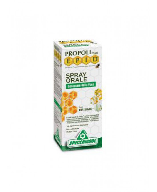 Specchiasol Propoli EPID Spray Orale Balsamico Difesa Vie Respiratorie 15 ml - latuafarmaciaonline.it