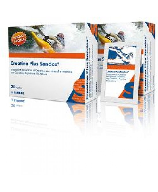 Creatina Plus Sandoz 20bust - Farmafamily.it