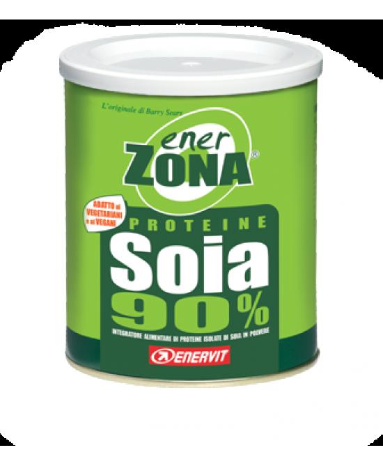 Enervit EnerZona Proteine Di Soia Isolate 90% Integratore Alimentare 216g - Spacefarma.it