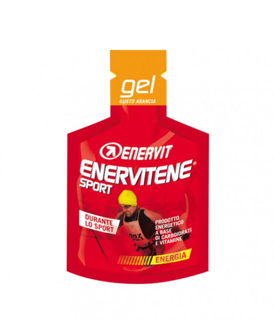 Enervit Enervitene Sport Gel Arancia Integratore Alimentare 25ml - Farmafamily.it