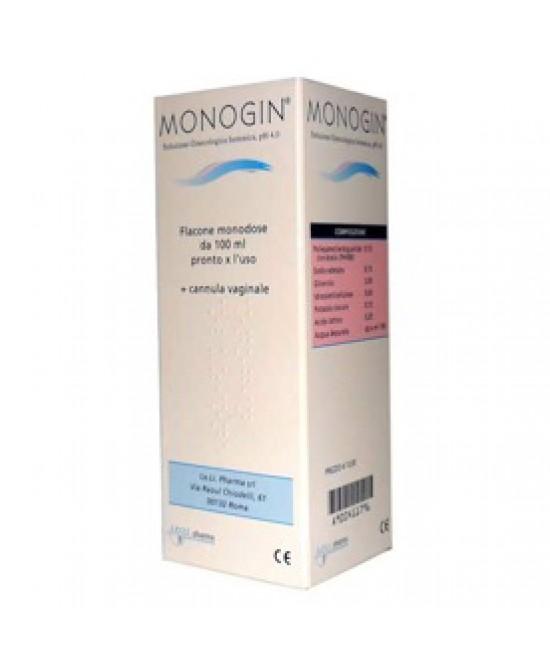 Monogin Soluzione Ginecologica 100ml - Farmafamily.it