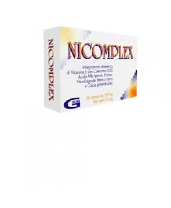 Nicomplex 36cps - Parafarmacia la Fattoria della Salute S.n.c. di Delfini Dott.ssa Giulia e Marra Dott.ssa Michela
