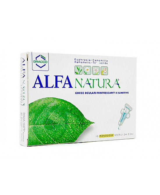 Alfa Natura Collirio 10 Monodose Da 0,5ml - Farmafamily.it