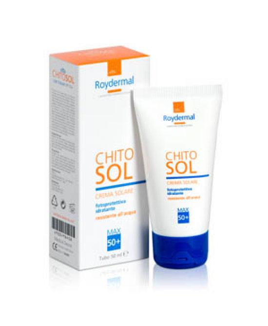 Roydermal Chitosol Crema Solare Spf50+ 50ml - latuafarmaciaonline.it