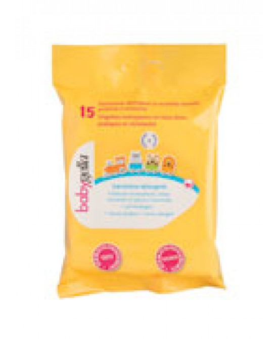 Saugella Lina Babygella / Linea Igiene Salviettine Detergenti 15 Pezzi - La farmacia digitale
