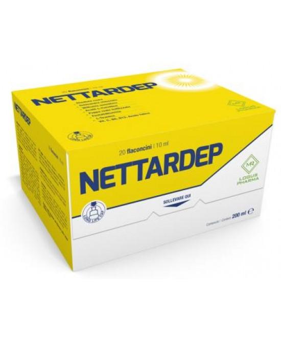 Logus Pharma Nettardep Integratore Alimentare 20 Flaconcini Da 10ml - Farmastar.it