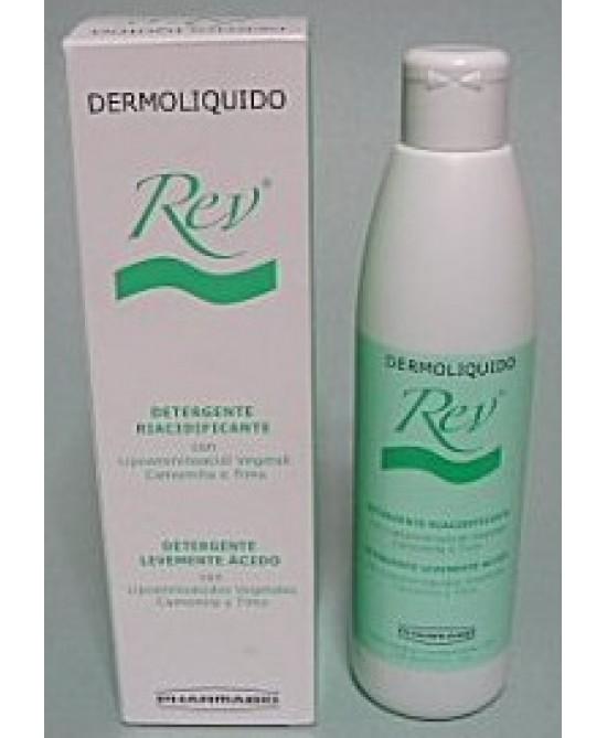 REV Dermoliquido Detergente Riacidificante 250ml - FARMAEMPORIO