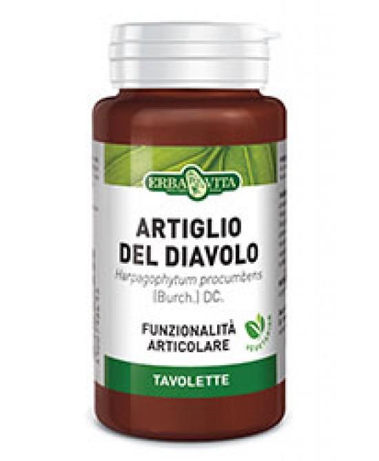 Erba Vita Artiglio del diavolo Integratore Articolare 125 Tavolette 400 mg