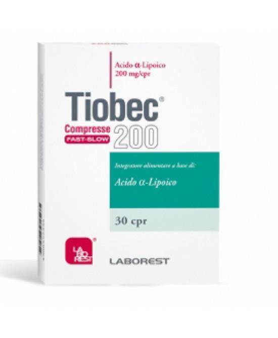 Tiobec 200 Retard 30 Compresse - Speedyfarma.it