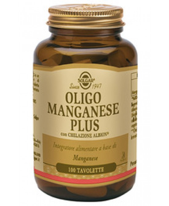 Oligo Manganese Plus Integratore 100 Tavolette