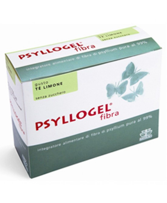 Psyllogel Fibra Te Limone 20 Bustine - Sempredisponibile.it