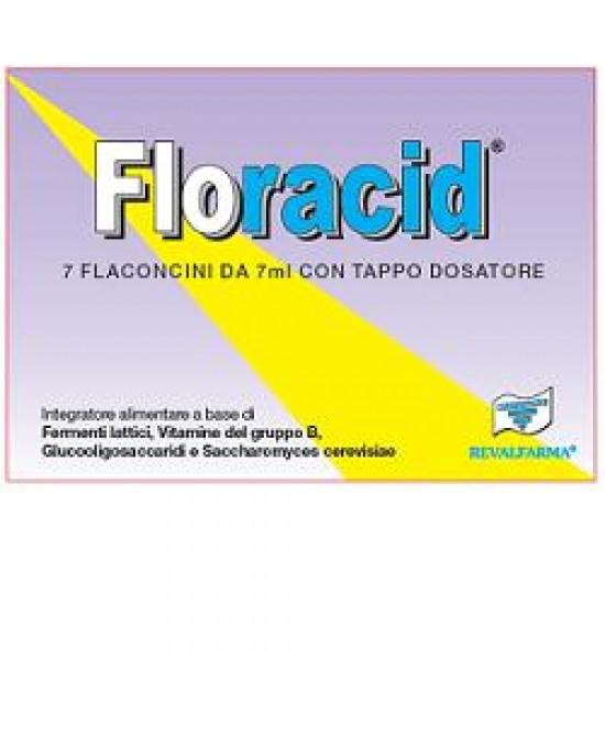 Floracid Integratore 7 Flaconcini