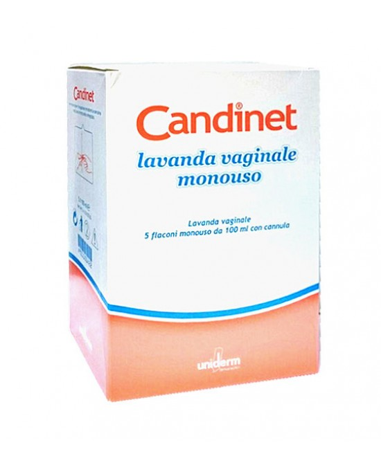 Undierm Candinet Lavanda Vaginale Monouso Lavanda Vaginale 5x100ml - Farmafamily.it