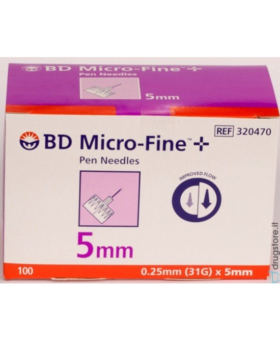 BD Micro-Fine Aghi G31 5mm 100 Pezzi - Farmabros.it