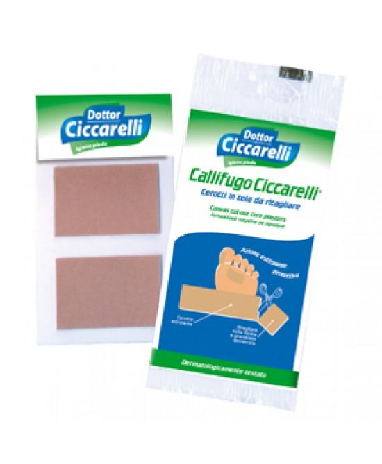 Dottor Ciccarelli Cerotti Callifughi In Tela 2 Pezzi - Farmaci.me