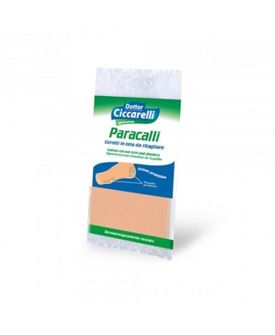 Dottor Ciccarelli Paracalli Cerotti In Tela Da Ritagliare 1 Pezzo - Farmaci.me