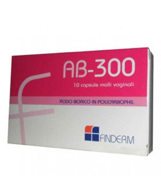 Ab 300 10 Capsule Vaginali - Farmaciaempatica.it