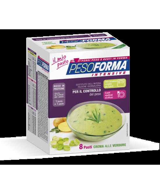 Pesoforma Crema Di Verdure Ipocalorica 8 Buste
