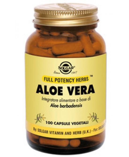 Solgar Aloe Vera 100 Capsule Vegetali - Farmacia Giotti