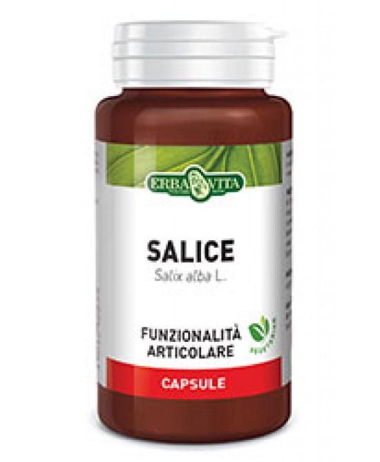 ErbaVita Capsule Monoplanta Salice Integratore Alimentare 60 Capsule -