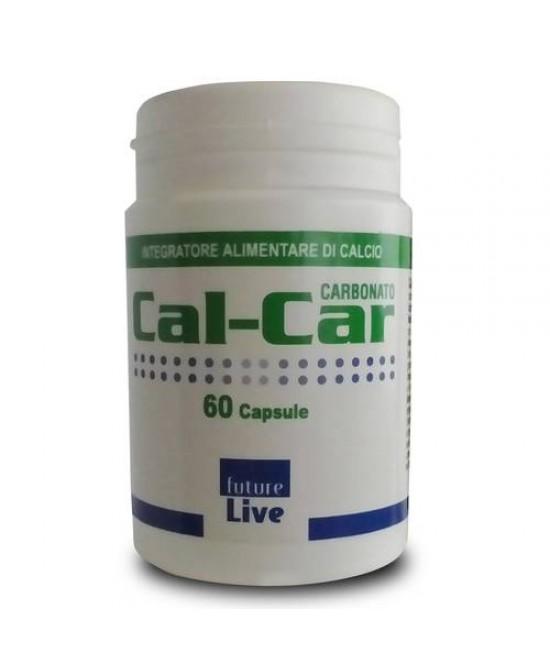 Cal-Car Carbonato Integratore Di Calcio 60 Capsule - Parafarmacia la Fattoria della Salute S.n.c. di Delfini Dott.ssa Giulia e Marra Dott.ssa Michela