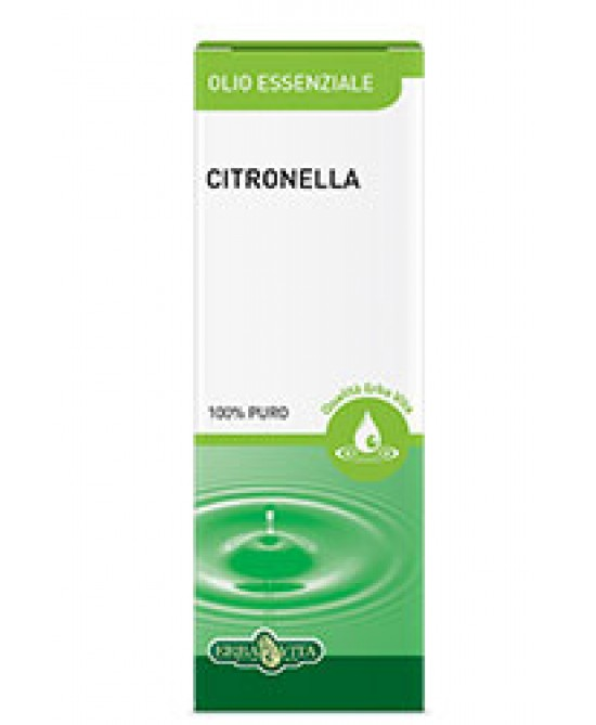 Erba Vita Olio Essenziale Citronella Integratore Naturale 10 ml