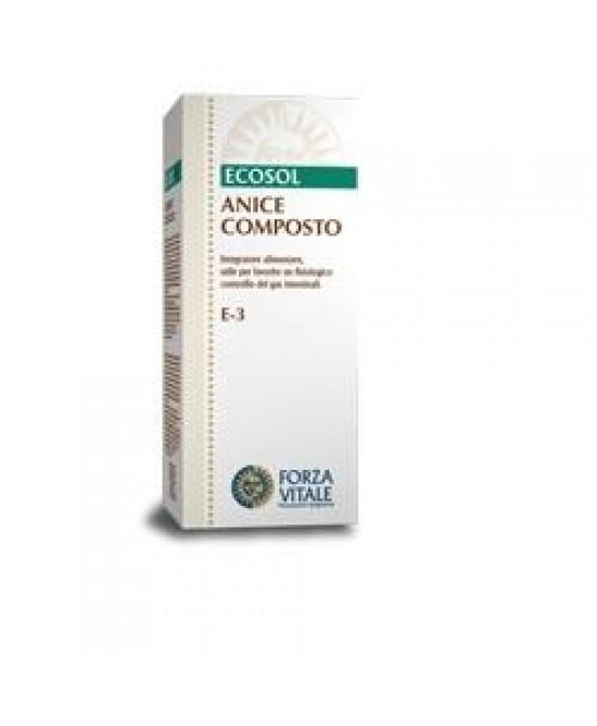 Ecosol Anice Composto Integratore 60 Compresse 25 g