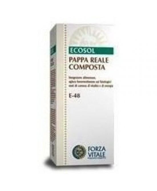 Ecosol Pappa Reale Composta Integratore Alimentare 50ml
