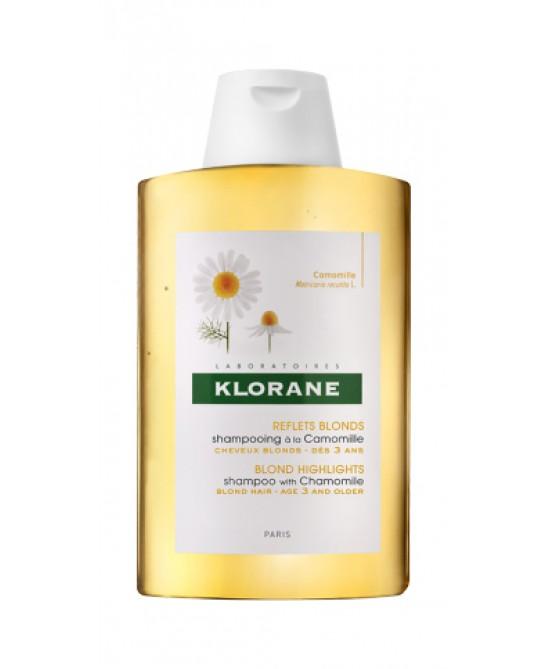 Klorane Shampoo Alla Camomilla Capelli Biondi O Castano Chiaro 200ml - Farmaci.me