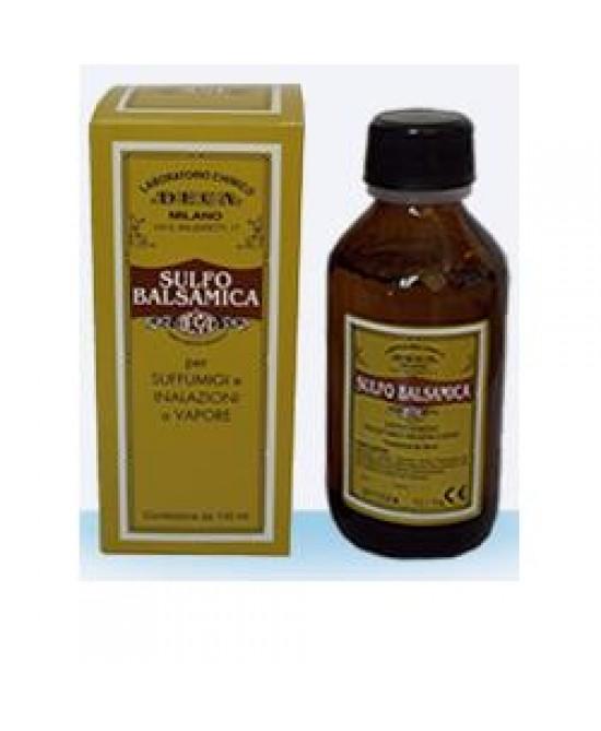 Sulfo Balsamica Soluzione 100ml - La tua farmacia online