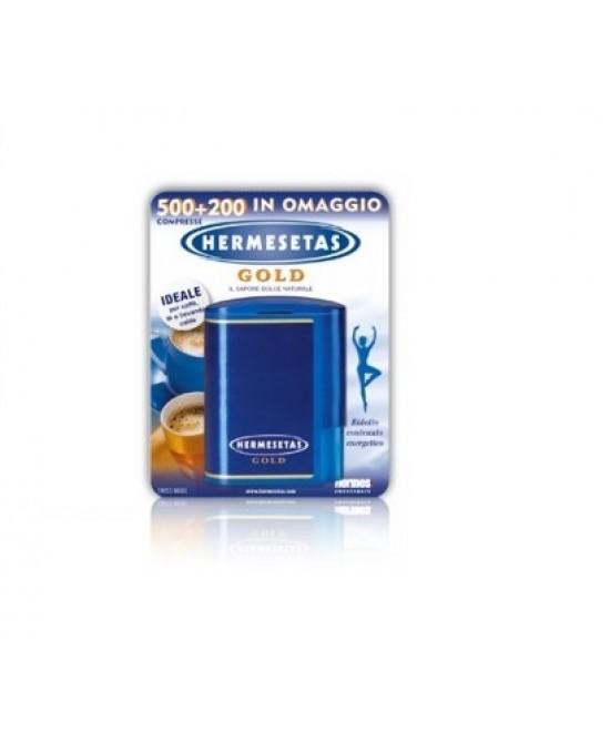 Hermesetas Gold Dolcificante 500 + 200 Compresse - Farmalilla