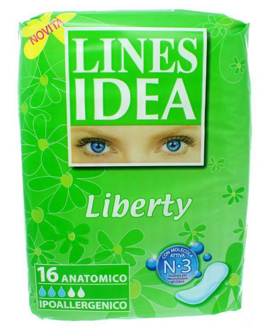 Lines Idea Sottile Liberty Anatomico 16 Pezzi - Zfarmacia