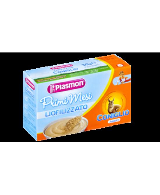 Plasmon Primi Mesi Liofilizzato Coniglio 3x10g - Parafarmaciabenessere.it