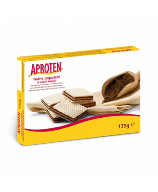 Aproten Wafers Al Cacao Magro Ipoproteici 175g