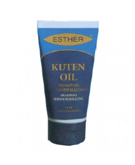 Kuten Oil Shampoo Sebonormalizzante - Farmacia Giotti