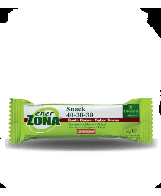 Enervit EnerZona Snack 40-30-30 Cacao Barretta 27g - Farmabros.it